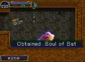 In Castlevania: Symphony of the Night, the