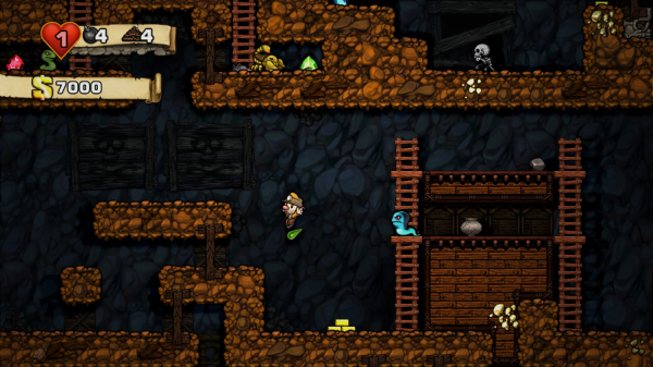 Spelunky Level